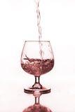Бокал с водой Стоковое Фото
