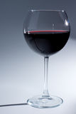 Бокал с красным вином Стоковые Изображения RF