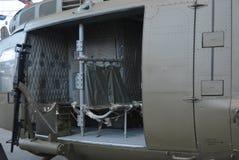 Боковая дверь вертолета армии Стоковое Фото