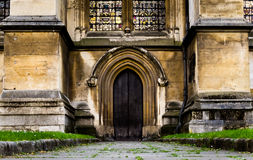 Боковая дверь Вестминстерского Аббатства Стоковое Изображение