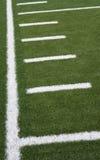 боковая линия футбола Стоковые Изображения