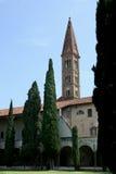 Боковая сторона повести базилики Santa Maria, Флоренса, Италии Стоковое Изображение RF