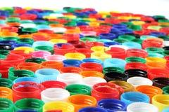 Боковины из цветного каучука как пластичная предпосылка Стоковое фото RF