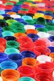 Боковины из цветного каучука как пластичная предпосылка Стоковые Изображения RF