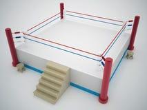 Боксерский ринг Иллюстрация вектора
