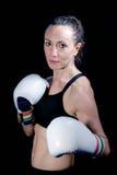 Боксер женщины стоковые изображения rf