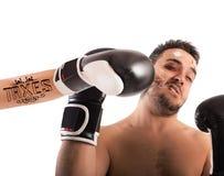 Боксер с татуировкой налогов Стоковая Фотография
