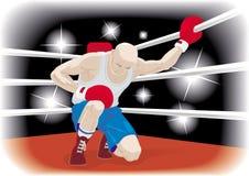 боксер иллюстрация штока