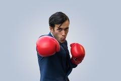 Бокс бизнесмена для здоровья Стоковые Изображения RF