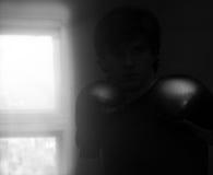 Бокс бойца Muay тайский Стоковые Фото