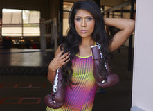 Бокс красоты Latina стоковые изображения