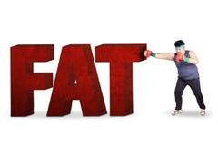 Бокс для теряет вес 1 Стоковые Фото