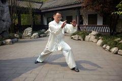 Бокс taiji игры человека Стоковые Фото