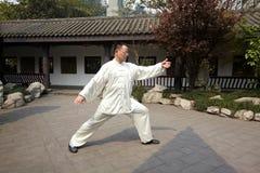 Бокс taiji игры человека Стоковое Изображение