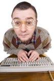 болван клавиатуры Стоковая Фотография