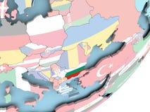 Болгария с флагом иллюстрация штока
