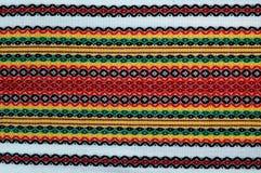 болгарская вышивка традиционная Стоковое фото RF