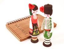 болгарский сувенир кукол стоковое фото