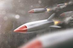 Более быстрое летание ракеты иллюстрация штока