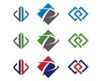 Более быстрый шаблон логотипа Стоковое Изображение