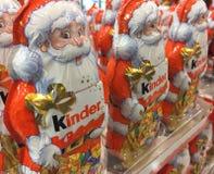 Более добросердечный шоколад Санта Клаус Стоковые Изображения RF