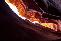 Более низкий каньон антилопы в Аризоне - самом красивом месте в пустыне стоковая фотография