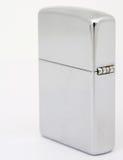 более светлое серебряное zippo Стоковое Фото