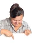 более старая женщина плаката Стоковые Фотографии RF