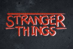 Более странные граффити вещей на стене grunge иллюстрация штока