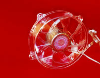 более холодный вентилятор Стоковое Изображение RF
