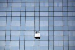 более чистое окно Стоковые Изображения RF