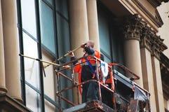 более чистое окно Стоковое Фото