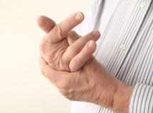 болея перста Стоковое фото RF