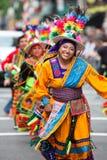 боливийская родная женщина стоковая фотография
