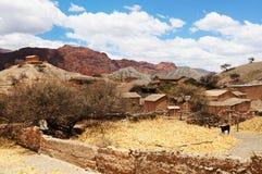 боливийская сельская местность Стоковая Фотография RF