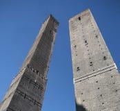 Болонья, 2 башни Стоковое Изображение RF