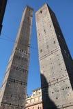 Болонья, 2 башни Стоковое Фото