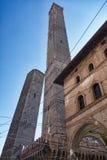 Болонья, 2 башни Стоковые Изображения RF