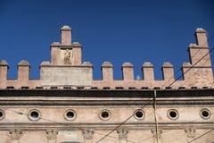 Болонья, исторические здания Стоковая Фотография