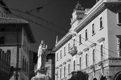 Болонья, исторические здания Стоковое Изображение RF
