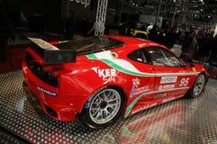 БОЛОНЬЯ, ИТАЛИЯ - 2-ОЕ ДЕКАБРЯ 2010: Феррари F430 GTC показал на мотор-шоу болонья стоковые изображения