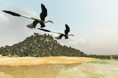 болото доисторический Стоковая Фотография RF