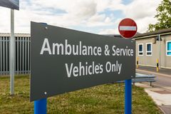Больница фермы гоньбы в Enfield Лондоне стоковое изображение rf