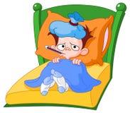 больной малыша бесплатная иллюстрация