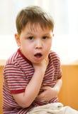 больной малыша Стоковые Фото