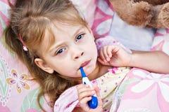 больной ребенка Стоковое Изображение RF