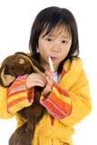 больной ребенка Стоковое Фото