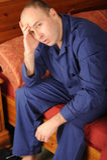 больной человека Стоковые Фотографии RF