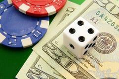 большая азартная игра Стоковое Изображение
