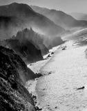 Большая береговая линия Sur стоковые изображения